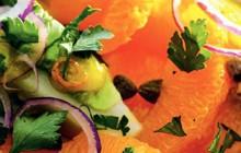 1. Sla met sinaasappeldressing 3