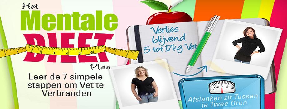Het mentale dieetplan